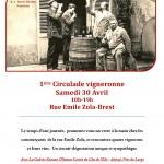 Virée à Brest le 30 avril pour la Circulade vigneronne organisée par la Cave de Bacchus .... nous y serons !
