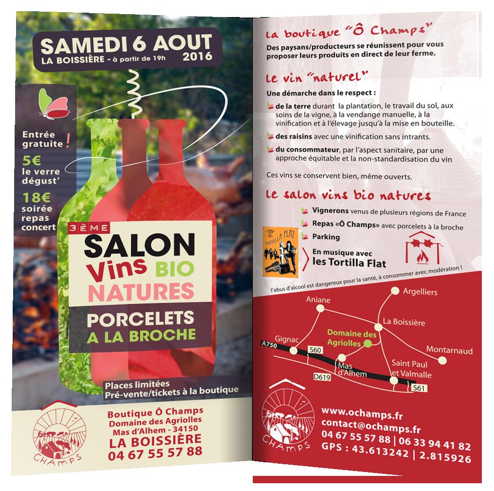 le 6 août à La Boissière (34)