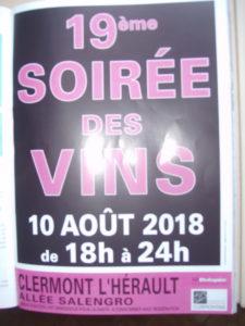 SOIREE DES VINS en coeur d'Hérault